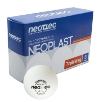 Пинг-понг шарики Neottec Neoplast Training 6